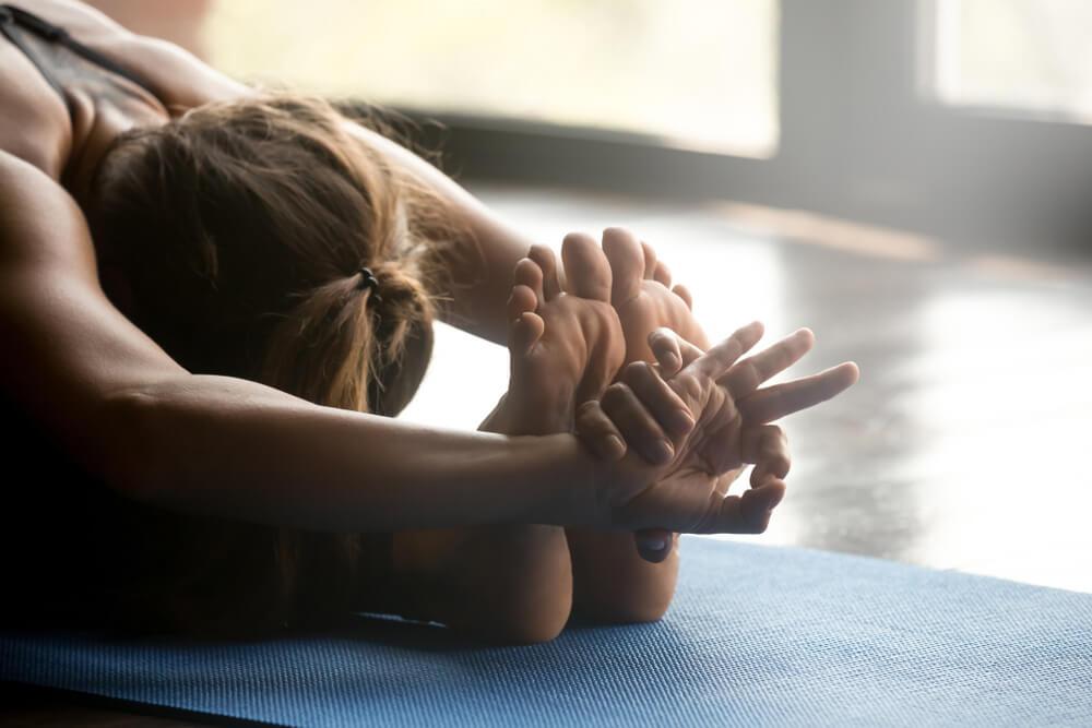 Ashtanga-Yoga Vorwaertsbeuge